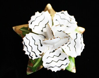 Vintage 1950s Hattie Carnegie Flower Pin