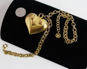 Big Givenchy Heart   Goldtone Necklace/Chain