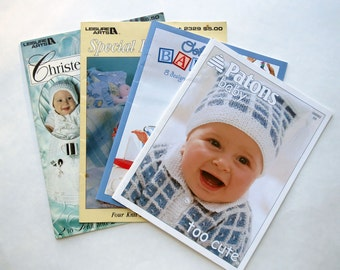 Baby Outfits to Crochet or Knit Four Booklets