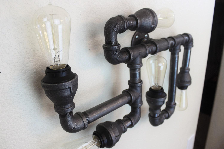 Industrial lighting vintage edison bulbs steampunk electric