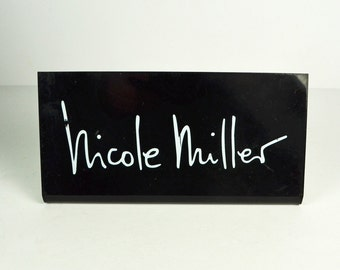 Vintage Store Display Stand Sign / Nicole Miller / Designer Clothing Display