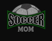 Soccer Mom Arch Rhinestone Shirt
