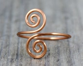 Copper ring  Free US Shipping handmade anni designs
