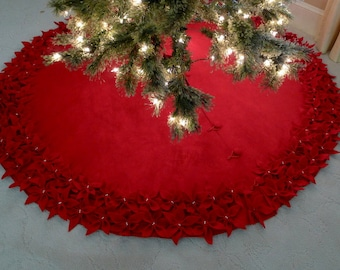Christmas tree skirt | Etsy