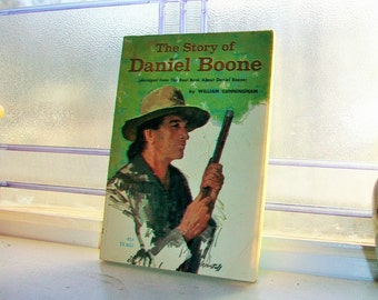 The Story of Daniel Boone 1966 Vintage Book