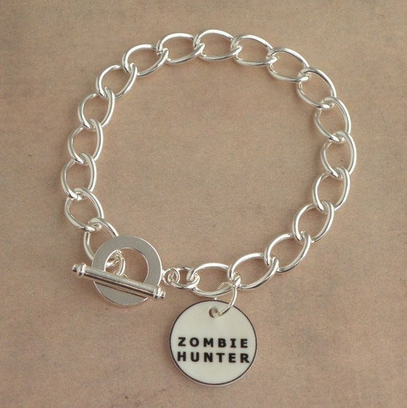 Design Your Own Custom Bangle Charm Bracelet Pick Your Charms: Items Similar To Create Your Own CUSTOM The Walking Dead