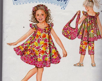 Simplicity Pattern 2466-Daisy Kingdom Child Sportswear-Sz 3-8 Uncut Factory Folded
