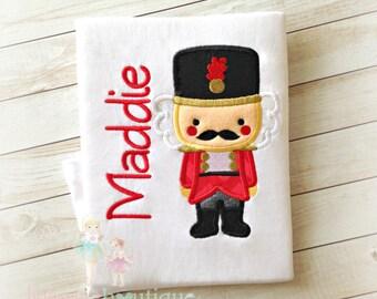 Kids Christmas shirt - nutcracker Christmas shirt - 1st Christmas Shirt - First Christmast shirt - Custom Holiday shirt with nutcracker