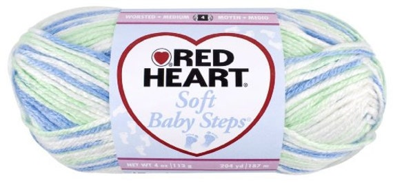 Items Similar To Yarn Puppy Print Red Heart Soft Baby