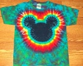 Tie Dye Mickey, S M L xl 2x 3x 4x 5x 6x, Kids, Adult, Plus Size tie dye Shirt, Mouse tie dye Groovy
