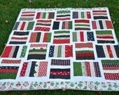 SALE, Holiday CHRISTMAS QUILT