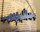 Wooden Detroit Necklace
