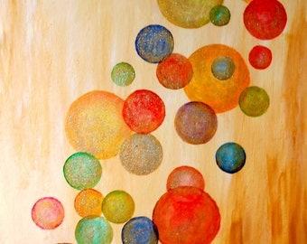 Sweet Dreams - Original Acrylic Painting