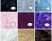 Faux Fur Swatch Sample Cutting / Rug Color Match  / You Choose