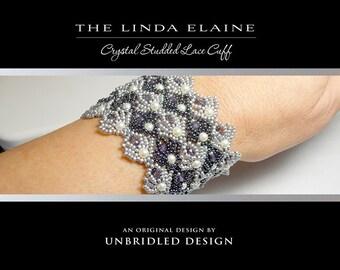 The Linda Elaine beaded bracelet pdf tutorial
