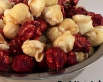 RED VELVET Freedom Snacks Glazed Handcrafted Gourmet Popcorn