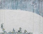 Winter Growth - Fine Art Print of my Original Painting