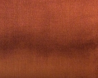 Brown Corduroy - Baby Wale  by Fabric Finders