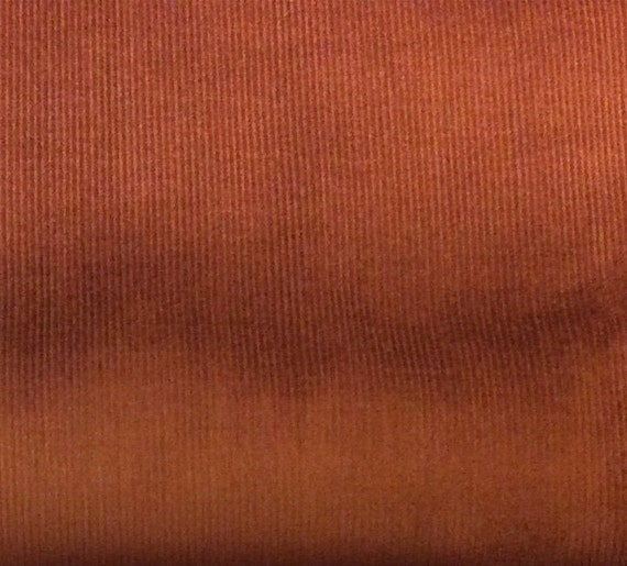 Brown corduroy chestnut brown baby wale 21 wale by for Children s corduroy fabric