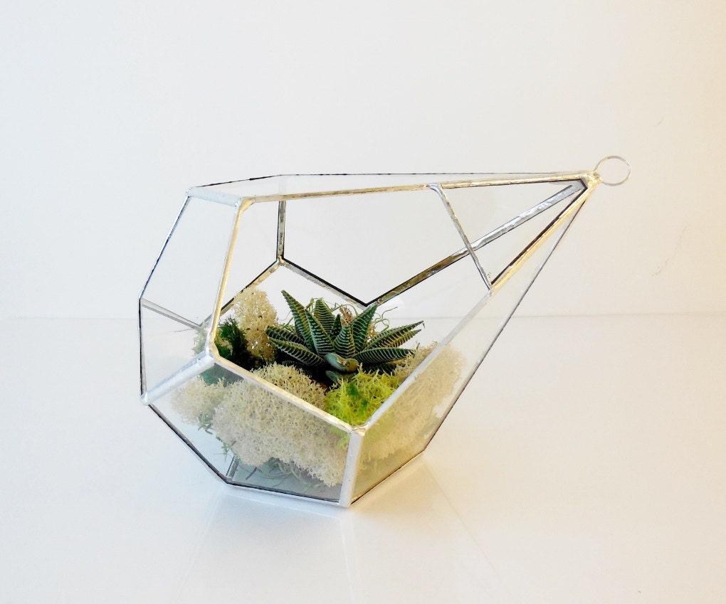 terrarium glass terrarium teardrop large hanging terrarium. Black Bedroom Furniture Sets. Home Design Ideas