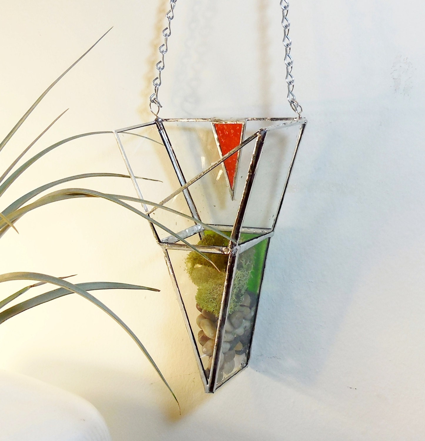 Chandeliers pendant lights for Geometric air plant holder