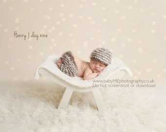 Little Trousers and Beanie set