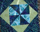 """14-1/2"""" quilt squares(2) as shown"""