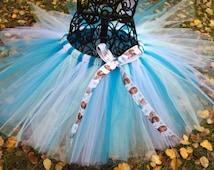 Disney Frozen Queen Elsa Tutu Petti Skirt