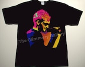 ALICE IN CHAINS Layne Staley drawing deluxe custom art unique hand-painted T-shirt