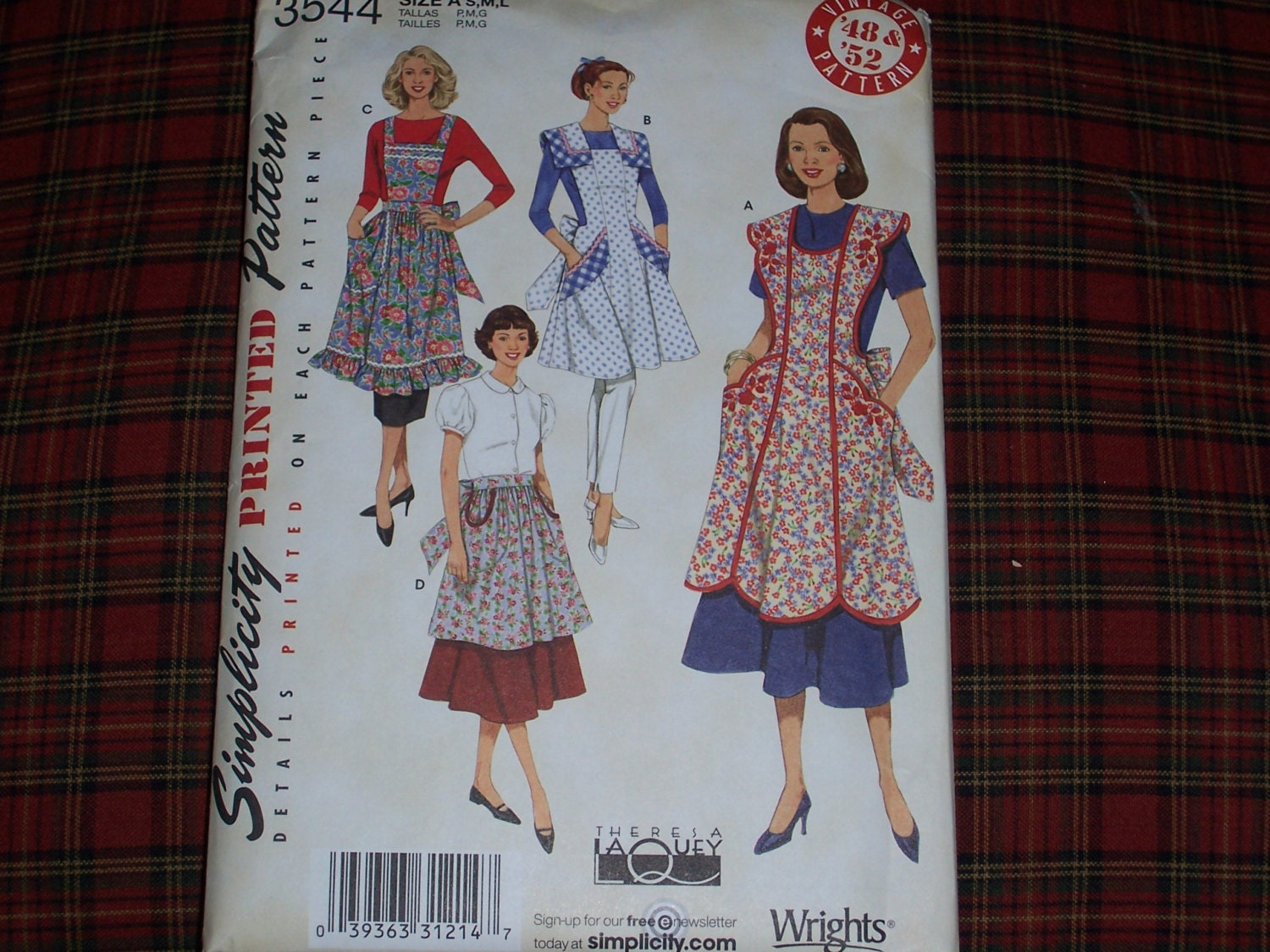 Simplicity 3544 Reproduction From Vintage By Mirandasroom