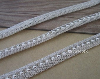 6.6ft  silver color beads chain necklace pendant chain  8mm