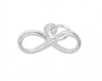 Sterling Silver Infinity Symbol Charm
