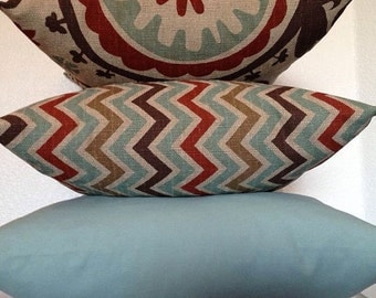 Zoom Zoom Nile Denton Zig Zag Chevron Home Decor Fabric-FREE US SHIPPING