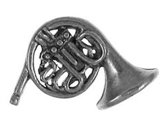 French Horn Lapel Pin - CC136