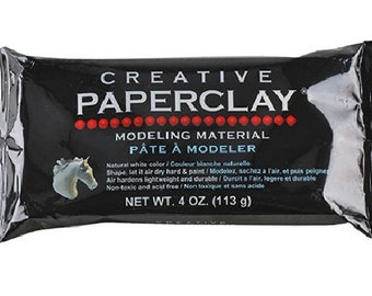 4oz Creative Paperclay Modeling Material