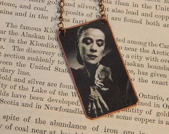 Martha Graham necklace mixed media jewelry music jewelry dance jewelry
