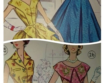 All sizes- 225 designs- 1950s Pattern drafting and dressmaking eBook (PDF) -Australian vintage style - by email or on USB