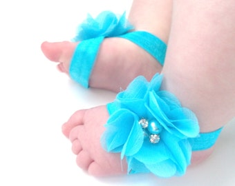 Baby Barefoot Sandals - Baby Photo Prop