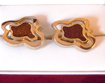 Original Vintage HICKOK Modern Cufflinks