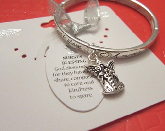 Nurses' Blessing  Message Blessing Bracelet Valentine's Day Mothers Day Easter