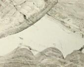 Surreal Monochrome Landscape on a Postcard P569