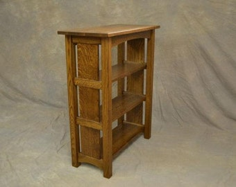 Mission Arts & Crafts Oak Bookcase Vermont Made Free Shipping