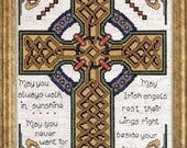 Celtic Cross - Counted Cross Stitch Kit Design Works 2417