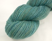 Handspun Yarn,  Falkland Wool,  394y in Life, the Universe, and Everything