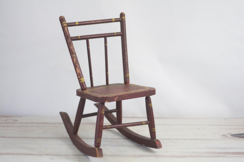 Antique Wooden Child's Rocking Chair 1500 x 996