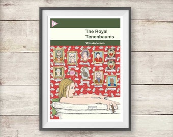 The Royal Tenenbaums - Wes Anderson - Print