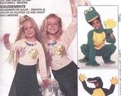 McCall's Pattern 7852 Sz 6-8 Mermaid Frog Alligator Factory Folded Ships Free Halloween Costume Pattern