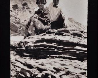 Original Antique Photograph Adventure Seekers