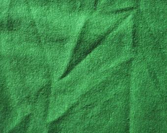 Hemp/Organic Cotton Jersey, Grass Green - sold by the half yard