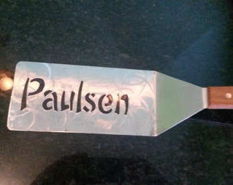 Custom Grill Spatula